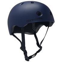 PROTEC Original Street Lite Helmet, Navy Blue, Medium