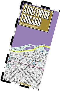 Streetwise Chicago Map - Laminated City Center Street Map of