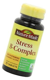Nature Made Stress B Complex W Zinc Size 75ct  225 ct total