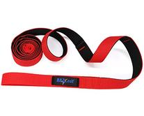 Yes4All Stretch Out Strap for Exerciser - Black/Red - ²