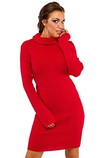 Glamour Empire. Womens Stretch Warm Polo Turtle Roll Neck