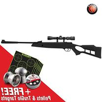 Hatsan Striker Edge Air Rifle Combo, Black