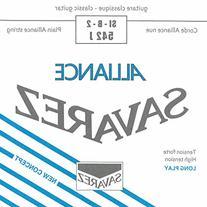 Savarez Strings 542J Nylon Classical Guitar Strings, Medium