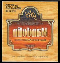 GHS Strings PF250 Bright Bronze Mandolin Strings, Medium