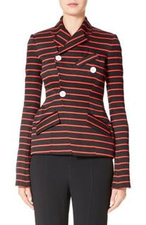 Women's Proenza Schouler Stripe Jacquard Jacket, Size 8 -