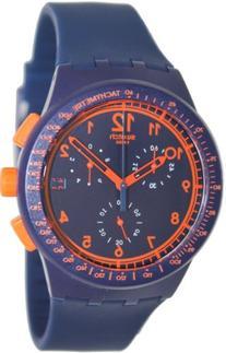 Swatch Men's STSUSN401 Originals Rebirth Blue Analog Display