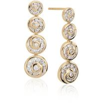 Blue Nile Blue Nile Studio Diamond Spiral Drop Earrings