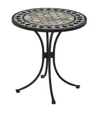 Home Style 5605-34 Bistro Table, Black Finish