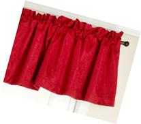 Stylemaster Gabrielle Foamback Valance, Crimson, 56 by 17-