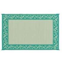 Stylish Camping Rd4 Classical Mat Green/Beige Reversible 6 X