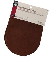 "Suede Cowhide Elbow Patches 4 3/4 "" x 6 1/4"