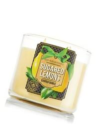 Bath & Body Works Sugared Lemons 3-Wick Scented Candle
