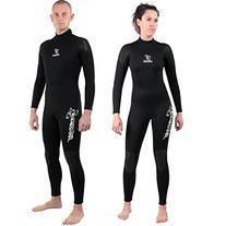 Seavenger 3mm Full Suit Flatlock Stitching Jumpsuit with