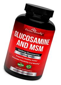 Glucosamine Sulfate Supplement  with MSM - 240 Small