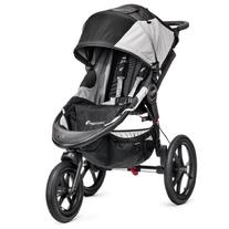 Baby Jogger Summit X3 Single Stroller, Black/Gray