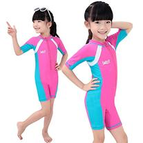 Fortuning's JDS® Sun UV protective rash guard one-piece
