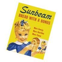 Sunbeam Bread Little Miss Sunbeam Retro Vintage Tin Sign