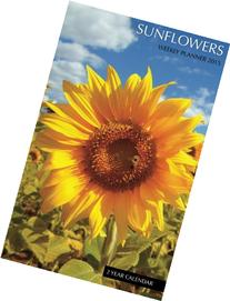Sunflowers Weekly Planner 2015: 2 Year Calendar