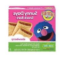 Earth's Best Sesame Street Sunny Days Snack Bars -