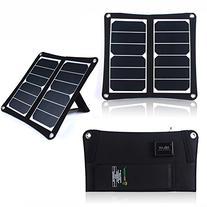 SUNKINGDOM™ 13W Dual USB Port Solar Charger with High