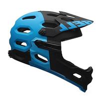 Bell Super 2R MIPS Helmet - Matte Black/Blue Aggression
