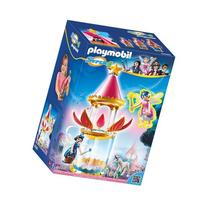 PLAYMOBIL Super 4 Musical Flower Tower with Twinkle Building