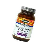 Udo's Choice - Super 5 Probiotic Lozenges - 60 count