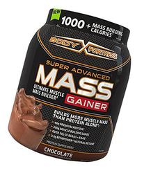 Body Fortress Super Advanced Mass Gainer, Chocolate, 2.25