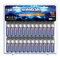 ACDelco AA Super Alkaline Batteries, 48 Count
