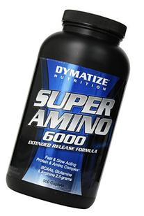 Dymatize Nutrition Super Amino 6000 Supplements, 500 Count