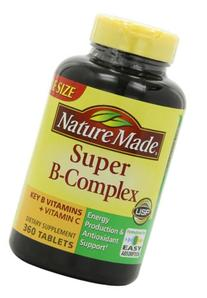Nature Made Super B Complex Tablets, Value Size