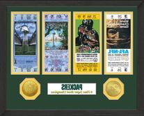 NFL Green Bay Packers Sb Championship Ticket Collection,