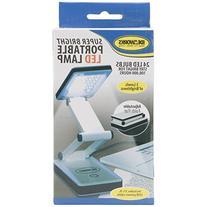IdeaWorks Super Bright Portable LED Lamp, White