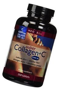 Super Collagen+c  250 Tablets X 3