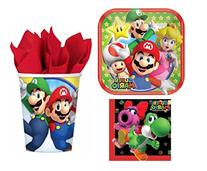 Super Mario Bros Party Pack for 8 Guests