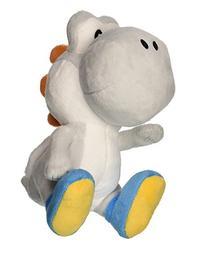 "Little Buddy Super Mario Bros. 6"" White Yoshi Stuffed Plush"
