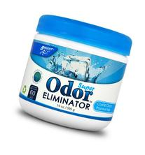 Super Odor Eliminator, Cool and Clean, Blue, 14oz, 6/Carton