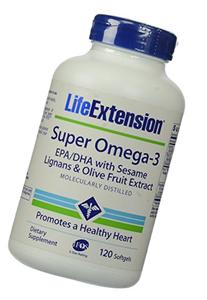 Life Extension Super Omega-3 EPA DHA With Sesame Lignans and