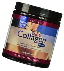 Neocell Super Powder Collagen, Type 1 and 3, 7 oz x 4 Pack