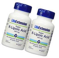 Life Extension Super R-lipoic Acid 60 X 2