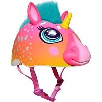 Raskullz Super Rainbow Unicorn With Hair Dark Pink Child's
