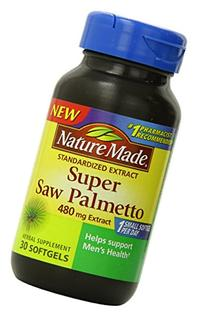 Nature Made Super Saw Palmetto Extract Liquid Softgel, 480