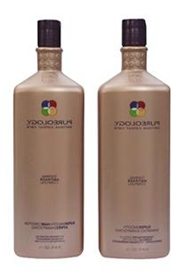 Pureology Super Smooth Shampoo & Conditioner 33.8oz Liter by