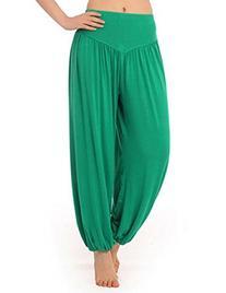 HOEREV Super Soft Modal Spandex Harem Yoga/ Pilates Pants,