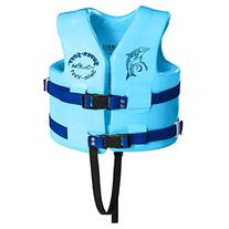 TRC Recreation Child Super-Soft USCG Vest, Marina Blue,