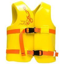 TRC Recreation Super Soft Small Child's Vinyl Vest Yellow