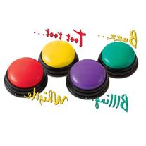 Super-Sound Answer Buzzers  - 4 different FUN sounds