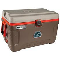 Igloo Super Tough STX Sportsman 54 Quart Cooler - Brown/Tan/