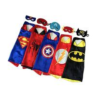 RioRand Comics Cartoon Hero Dress Up Satin Cape with Felt