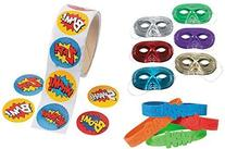 148 Pc Superhero Party Favor Supply Pack